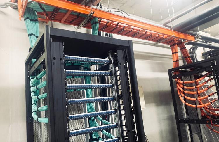 結構化布線:昶翰資安網路機房工程,配線間