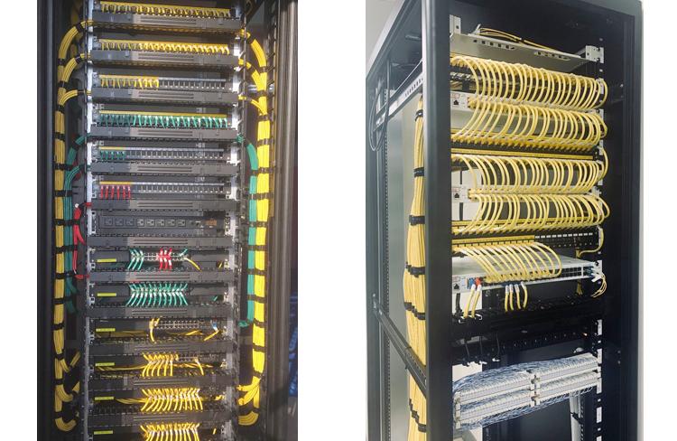 結構化布線:昶翰資安網路機房工程,擴充性