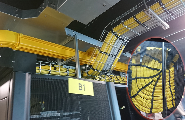 結構化布線:昶翰資安網路機房工程,區段工程