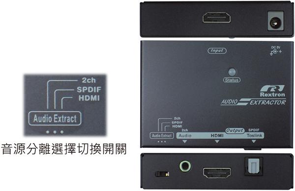 HDMI音頻分離