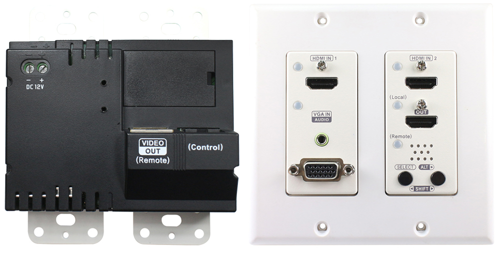 HDMI延長器,面板蓋板式
