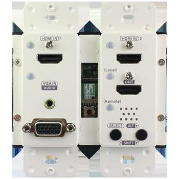HDMI延長器,面板式