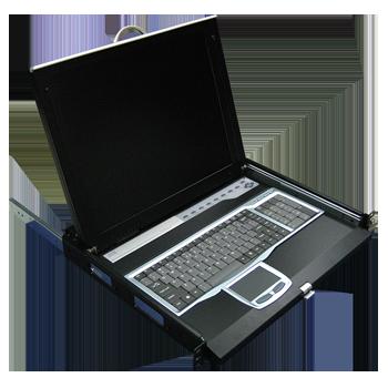 抽屜式LCD KVM控制台