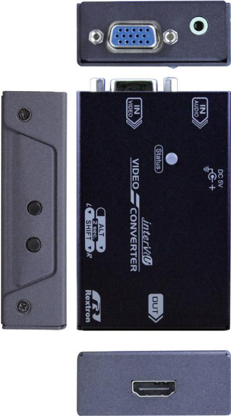 VGA轉HDMI-介面圖